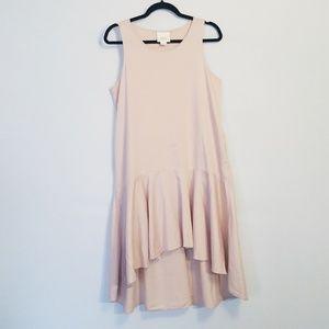 Anthropologie | Maeve Camellia Drop Waist Dress M